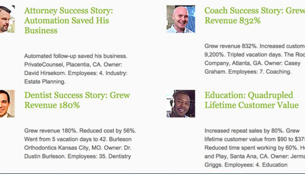 Grow your business success Stories
